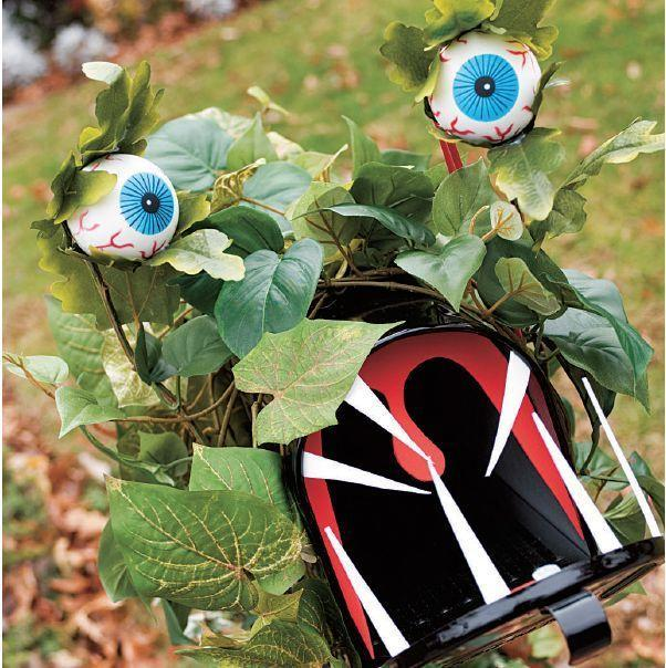"""<p>Scare the bejesus out of your party guests as they arrive to your home with this mailbox goblin. You can put it together with fake flower stems and craft foam. </p><p><em><strong><a href=""""https://www.womansday.com/home/decorating/a28913634/mailbox-goblin/"""" rel=""""nofollow noopener"""" target=""""_blank"""" data-ylk=""""slk:Get the Mailbox Goblin tutorial"""" class=""""link rapid-noclick-resp"""">Get the Mailbox Goblin tutorial</a>.</strong></em></p><p><strong><a class=""""link rapid-noclick-resp"""" href=""""https://www.amazon.com/Sheets-Better-Office-Products-Crafts/dp/B089DT3TC9?tag=syn-yahoo-20&ascsubtag=%5Bartid%7C10070.g.1908%5Bsrc%7Cyahoo-us"""" rel=""""nofollow noopener"""" target=""""_blank"""" data-ylk=""""slk:SHOP CRAFT FOAM"""">SHOP CRAFT FOAM</a><br></strong></p>"""