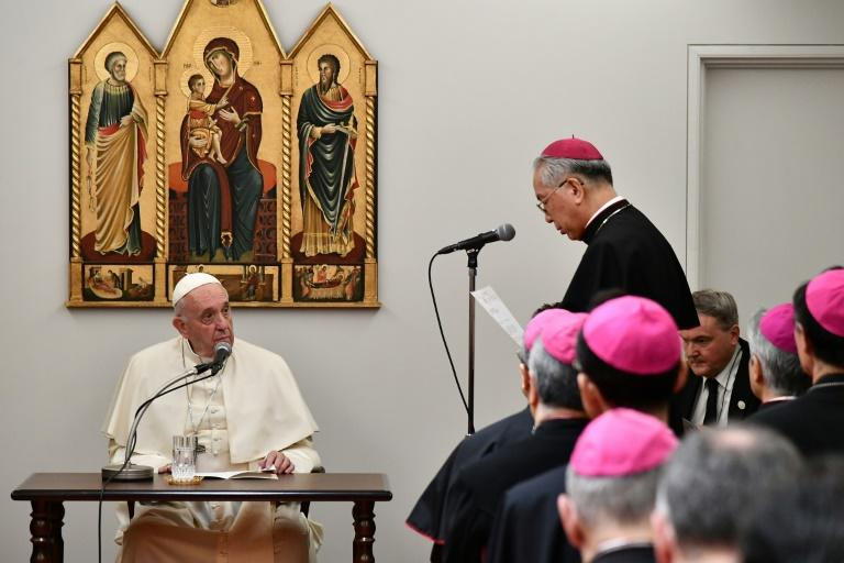 There are only approximately 440,000 Catholics out of a population of 126 million (AFP Photo/Vincenzo PINTO                      )
