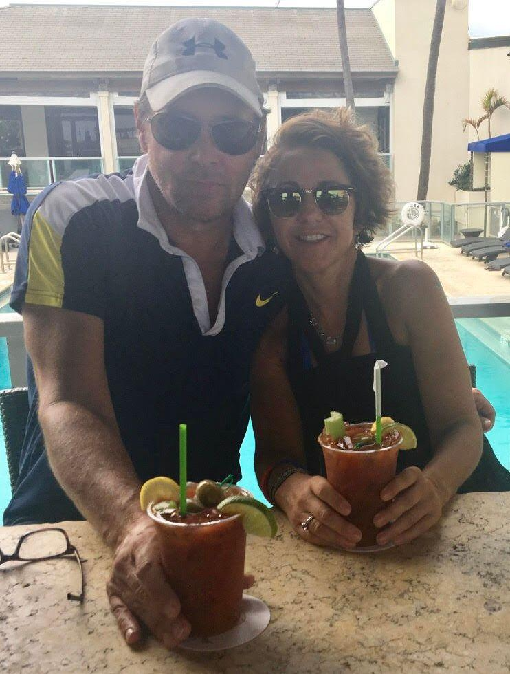 Rosas with Benson/Frederick in Jupiter, Florida, in December 2016. (Photo: Courtesy of Catalina Rosas)