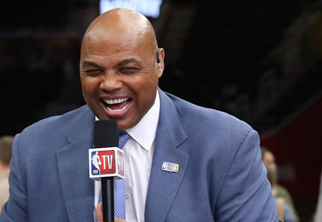 As usual, Charles Barkley doesn't care if you think his jokes are in poor taste. (Getty)