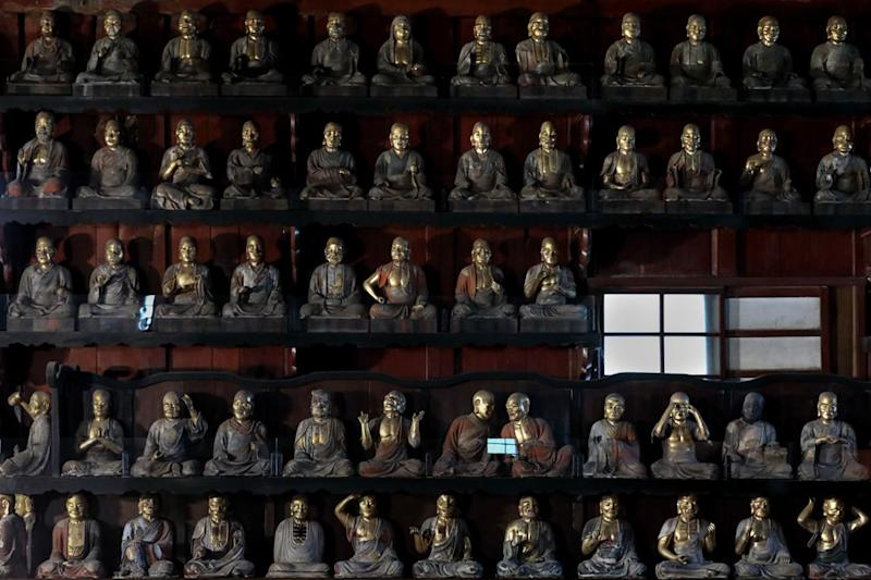 Hoon-ji Temple in Morioka is also known as the 'Temple of 500 Arhats'. — Pictures by CK Lim