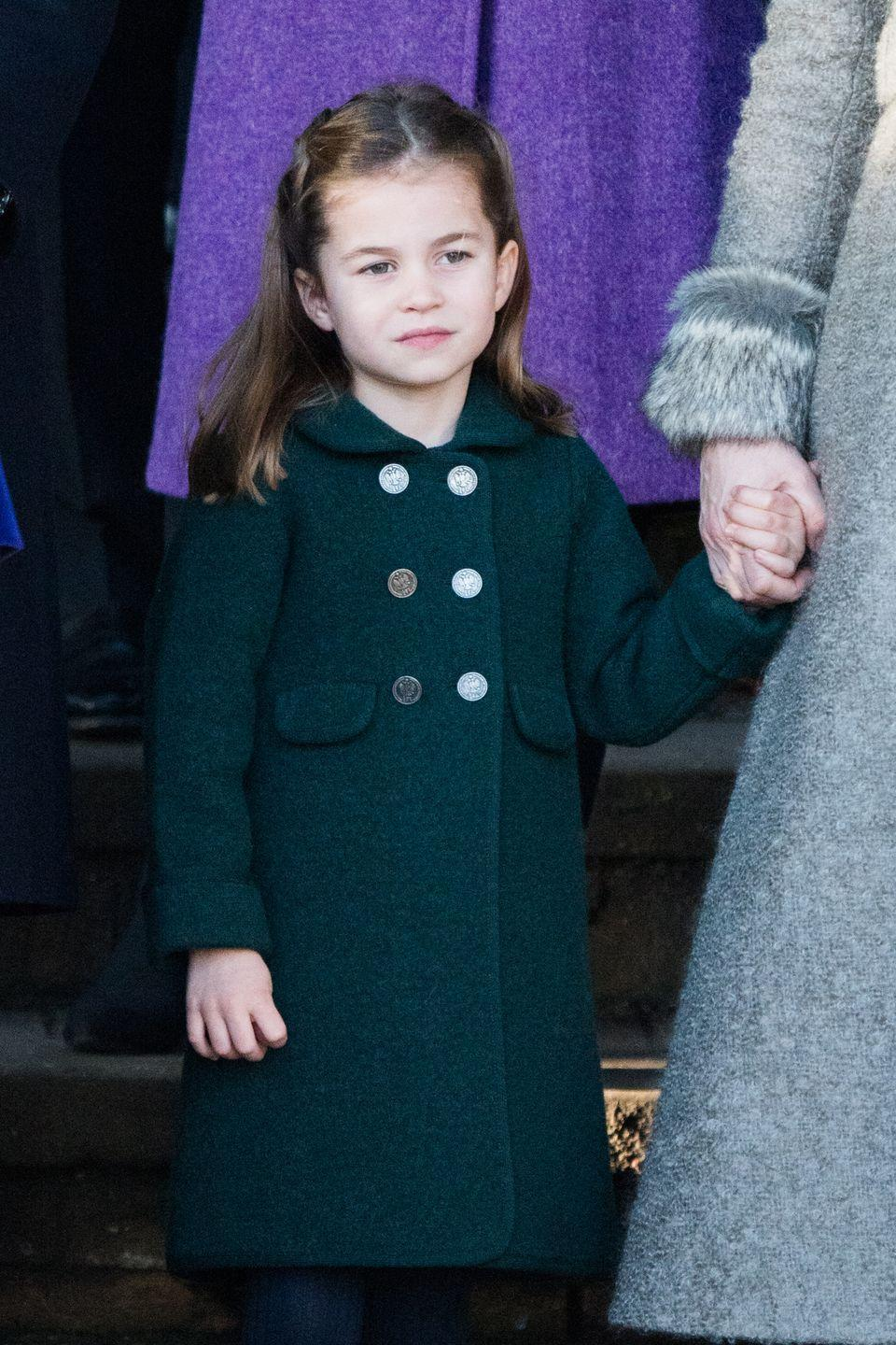 """<p>Princess Charlotte of Cambridge is the first and youngest female in line for the throne—and she retains the fourth spot over her younger brother Louis thanks to 2013's <a href=""""https://www.royal.uk/succession"""" rel=""""nofollow noopener"""" target=""""_blank"""" data-ylk=""""slk:Succession to the Crown Act"""" class=""""link rapid-noclick-resp"""">Succession to the Crown Act</a>. But still, it's highly unlikely anyone who's alive today will see another <a href=""""https://www.cosmopolitan.com/entertainment/celebs/a15072033/princess-charlotte-already-speaks-spanish-to-her-nanny/"""" rel=""""nofollow noopener"""" target=""""_blank"""" data-ylk=""""slk:queen"""" class=""""link rapid-noclick-resp"""">queen</a> on the throne. As the """"spare to the heir,"""" Charlotte will enjoy a life similar to Prince William's younger brother, Prince Harry, who has (er, <a href=""""https://www.cosmopolitan.com/entertainment/celebs/a30496404/meghan-markle-prince-harry-quitting-royal-family-timeline/?utm_campaign=cosmo-2020-tradetracker&utm_medium=affiliate&utm_source=tradetracker&utm_term=137180"""" rel=""""nofollow noopener"""" target=""""_blank"""" data-ylk=""""slk:had"""" class=""""link rapid-noclick-resp"""">had</a>) all the perks of royalty but isn't totally constrained by having to live up the role of a future monarch. She has the best of both worlds! In conclusion, <a href=""""https://www.youtube.com/watch?v=uhbq0KIFRds"""" rel=""""nofollow noopener"""" target=""""_blank"""" data-ylk=""""slk:watch her play with balloons"""" class=""""link rapid-noclick-resp"""">watch her play with balloons</a>.</p>"""