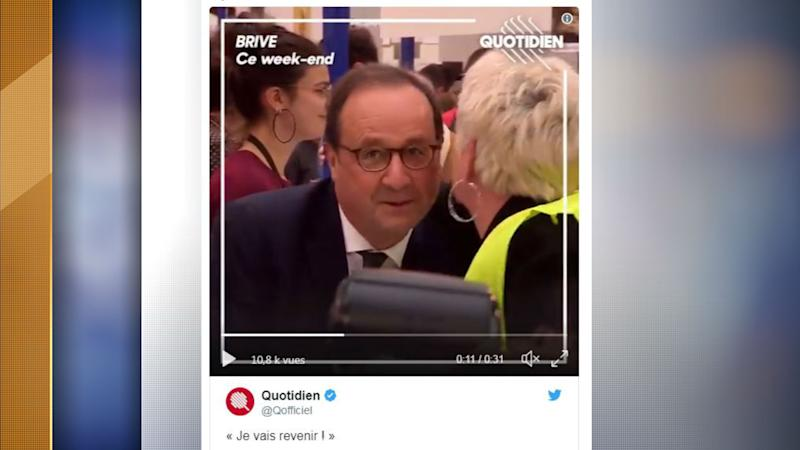 François Hollande l'assure :