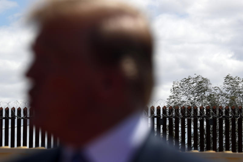 Cemeteries and family memories stand in border wall's way