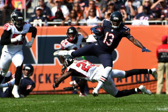 "Can <a class=""link rapid-noclick-resp"" href=""/nfl/players/25730/"" data-ylk=""slk:Kendall Wright"">Kendall Wright</a> close out 2017 as a fantasy starter? Yahoo fanalyst Liz Loza thinks he's more than a reach in Week 16."