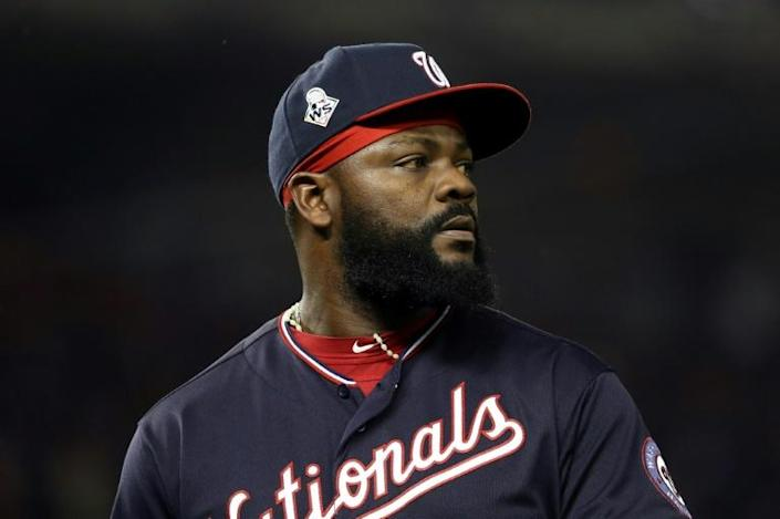 Fernando Rodney helped the Washington Nationals to the World Series last year (AFP Photo/Rob Carr)