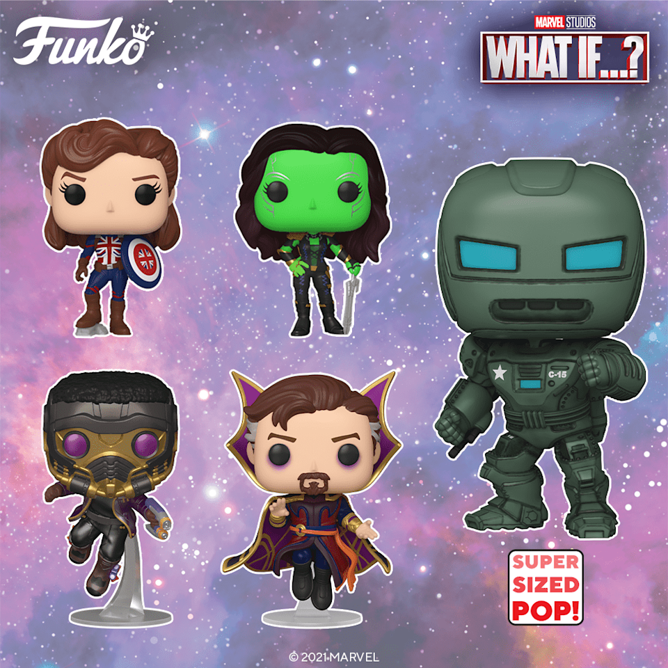 The first wave of What If...? Funko Pops