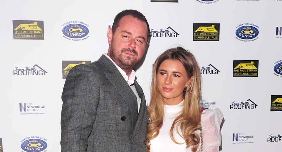 Dani and Danny Dyer are teaming up for a new podcast. (Photo by Keith Mayhew/SOPA Images/LightRocket via Getty Images)