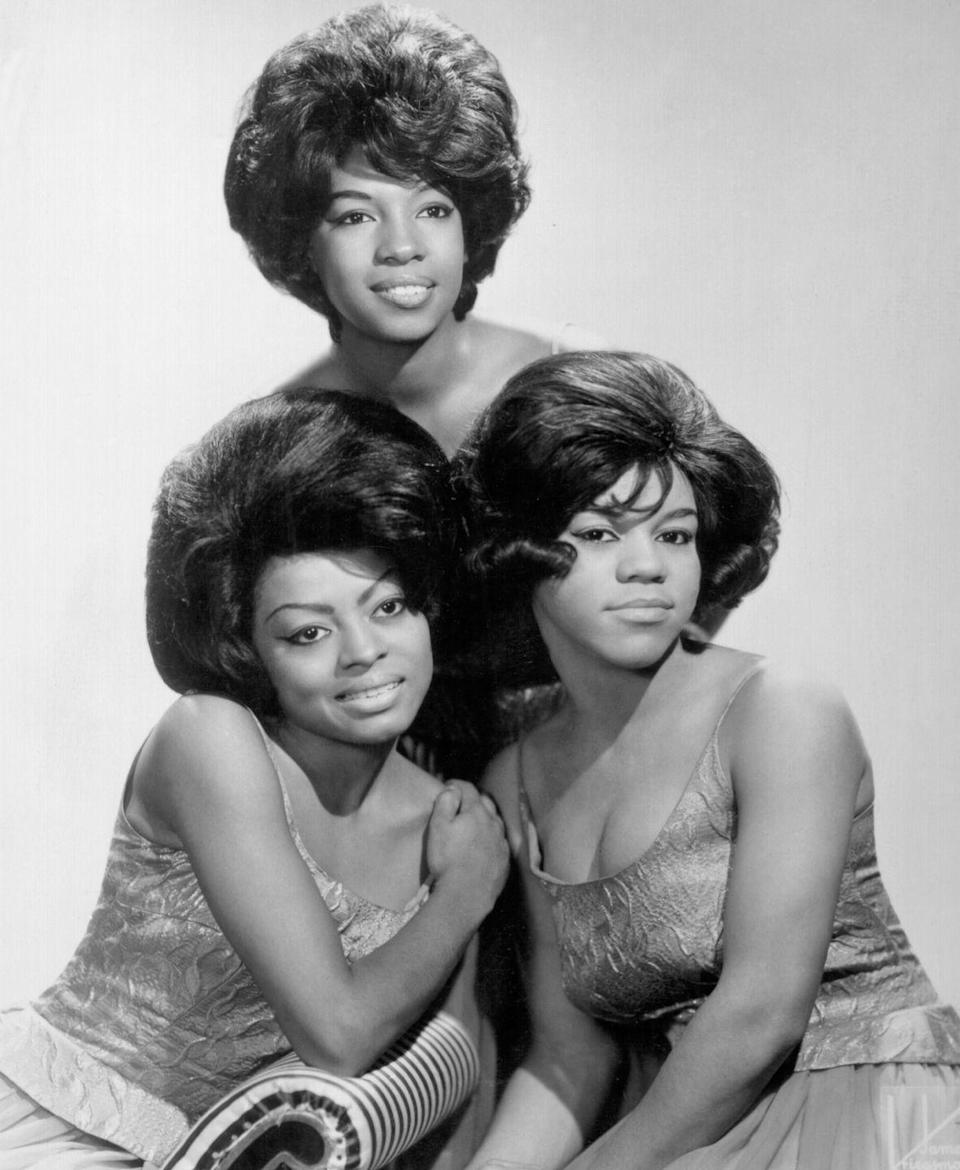 """<p>One of the group's first songs, """"When the Lovelight Starts Shining Through His Eyes,"""" shot to <a href=""""https://thesupremes.fandom.com/wiki/When_The_Lovelight_Starts_Shining_Through_His_Eyes"""" rel=""""nofollow noopener"""" target=""""_blank"""" data-ylk=""""slk:number 23 on the Billboard Hot 100"""" class=""""link rapid-noclick-resp"""">number 23 on the Billboard Hot 100</a> in 1963 and it became clear the group had massive potential. </p>"""