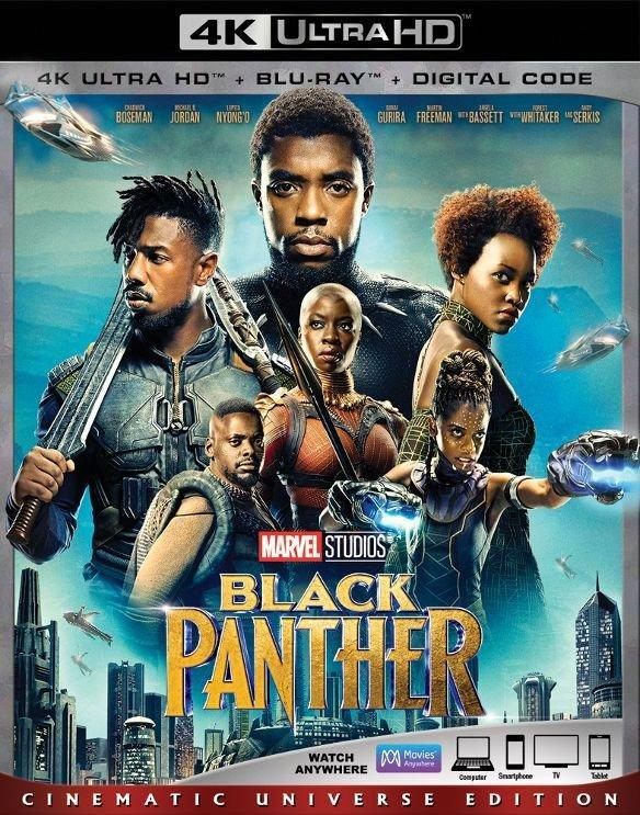 black panther home release date