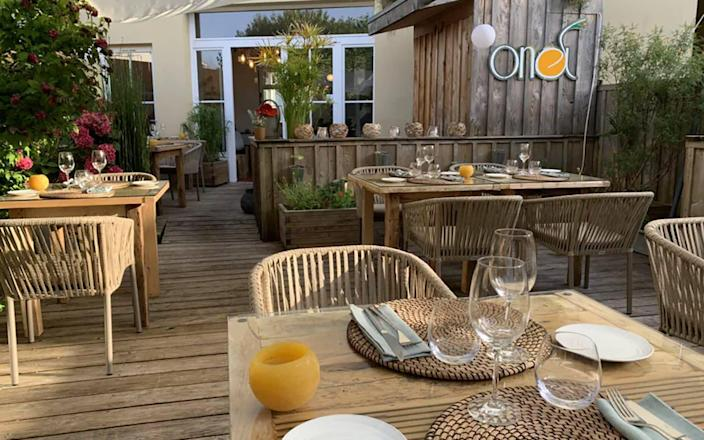 ONA restaurant in Ares, southwestern France - Telegraph