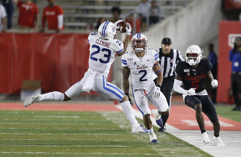 SMU's Rodney Clemons had a big performance Friday against Houston. (Getty Images)