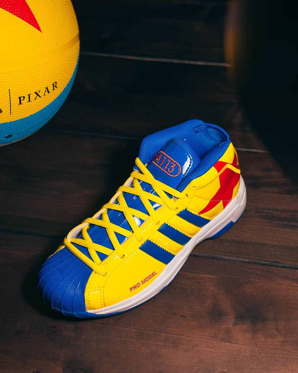 <p>Your little one will definitely be hard to miss while wearing a pair of superbright Adidas Luxo Ball Shoes.</p>