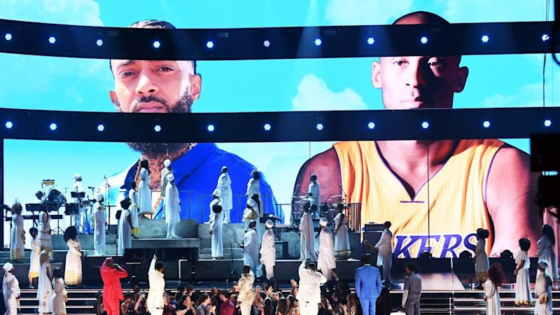John Legend, DJ Khaled and More Honor Nipsey Hussle and Kobe Bryant at 2020 GRAMMYs