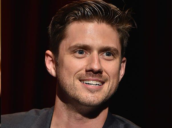 Aaron Tveit tested positive for COVID-19.