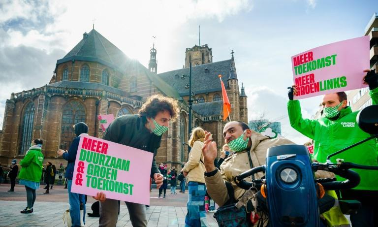 Dutch Greens have issued a Climate Alert as part of their campaign in the country's general elections