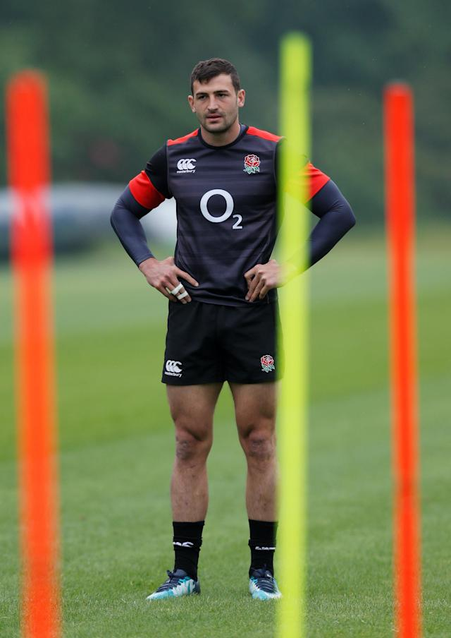 Rugby Union - England Training - Pennyhill Park, Bagshot, Britain - May 24, 2018 England's Jonny May during training Action Images via Reuters/Andrew Couldridge