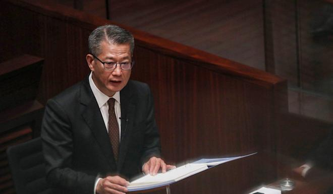 Paul Chan says the rapid growth in government expenditure is not sustainable. Photo: Winson Wong