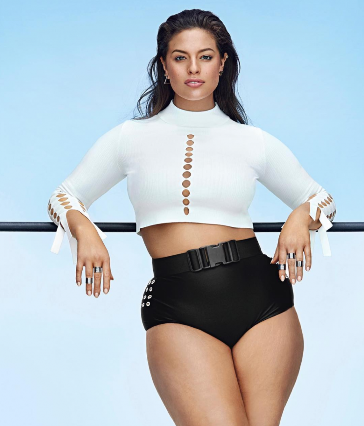 Models want to remove terms such as 'plus-size' [Photo: Instagram/theashleygraham]