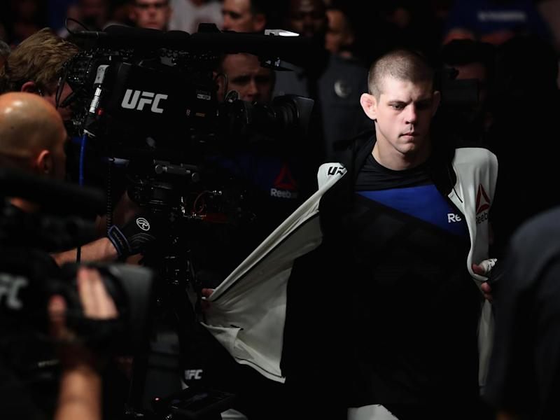 Lauzon will be making his 24th appearance in the Octagon (Getty)