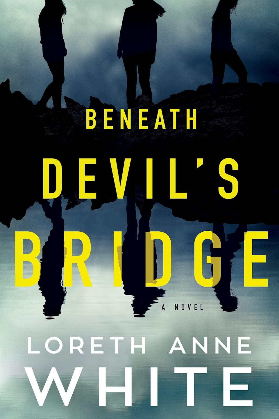<p>True crime fans, <span><strong>Beneath Devil's Bridge</strong></span> by Loreth Anne White is the one thriller you need to read this month. True crime podcaster Trinity Scott is on the verge of major success when she decides to delve into the case of Clayton Jay Pelley, a former guidance counselor who confessed to murdering one of his students. Now, two decades later, Clayton is recanting his story, and putting Trinity in a dangerous situation in the process. </p> <p><em>Out June 1</em></p>