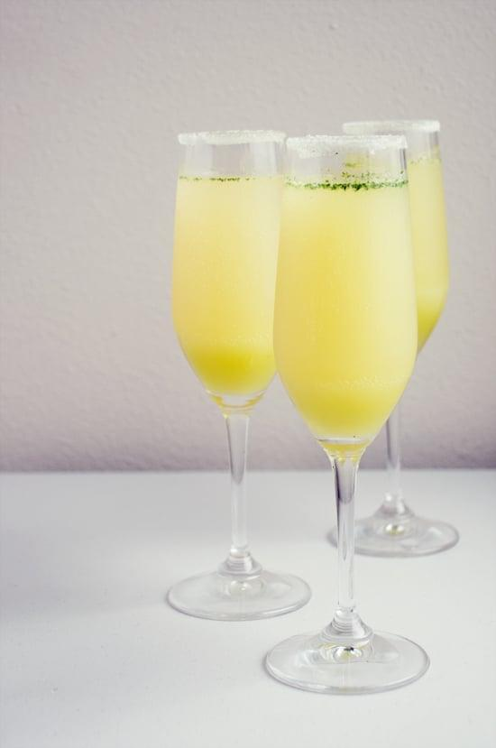 """<p>Move over, mimosas - a new light and refreshing drink is on hand. Try a limoncello cocktail made from mint, lemon juice, and sparkling wine for a taste that's out of this world.</p> <p><strong>Get the recipe</strong>: <a href=""""https://www.popsugar.com/food/Limoncello-Champagne-Cocktail-Recipe-15915407"""" class=""""link rapid-noclick-resp"""" rel=""""nofollow noopener"""" target=""""_blank"""" data-ylk=""""slk:limoncello cocktail"""">limoncello cocktail</a></p>"""