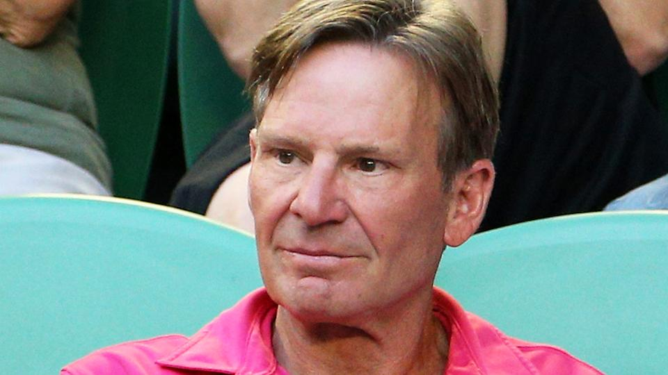 Sam Newman says he was lucky to escape serious injury after a Footy Show stunt gone wrong in 2011. (Photo by Lucas Dawson/Getty Images)