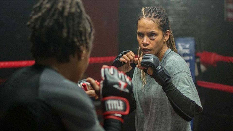 Bruised…Directed by Halle Berry…Halle Berry's directorial debut follows a former MMA fighter struggling to regain custody of her son and restart her athletic career. - Credit: Courtesy of TIFF