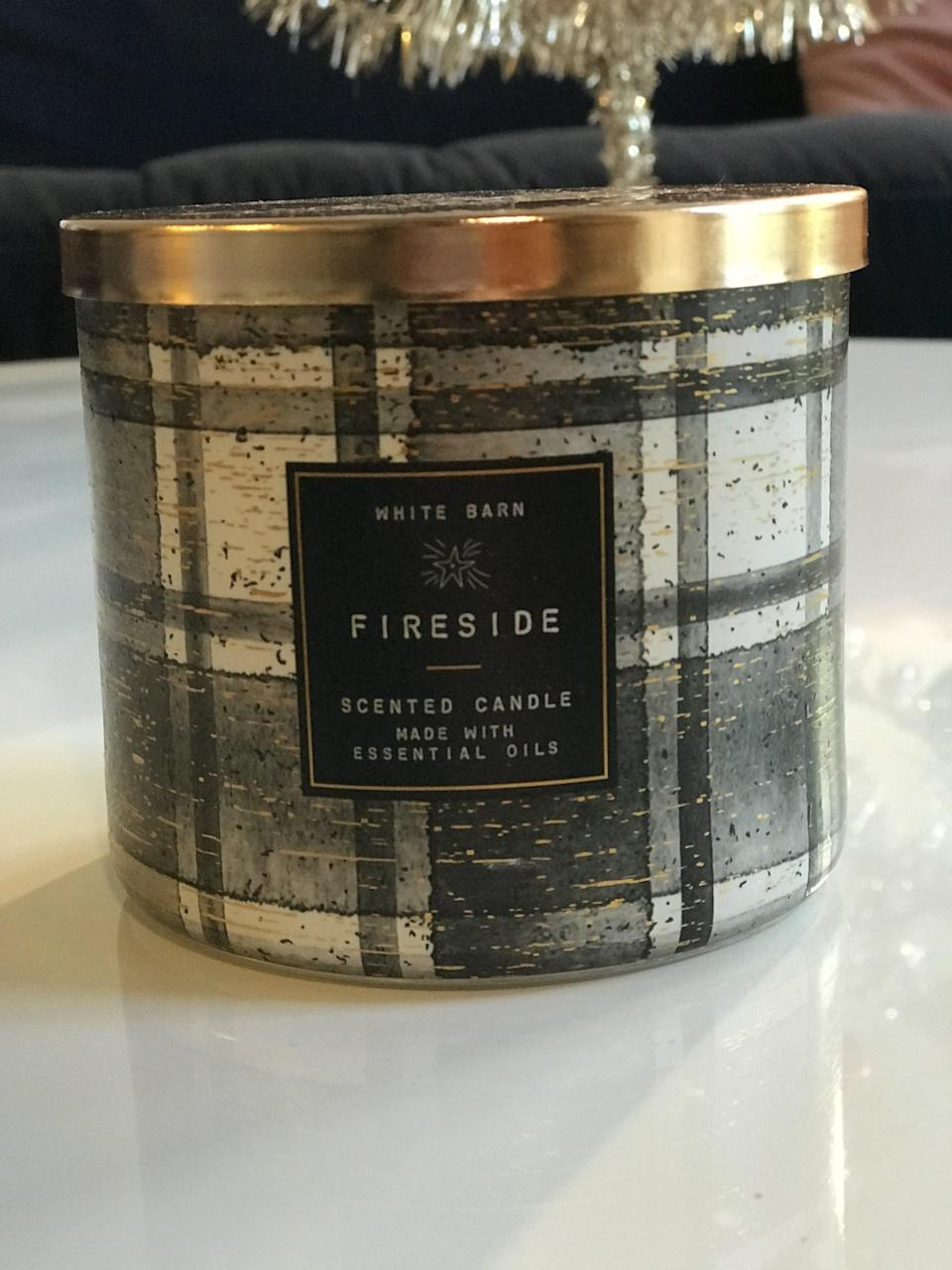 <p><span>Fireside 3-Wick Candle</span> ($15, originally $25)</p> <p><strong>What It Smells Like:</strong> If a lumberjack showed up in your log cabin and built you a fire.</p>