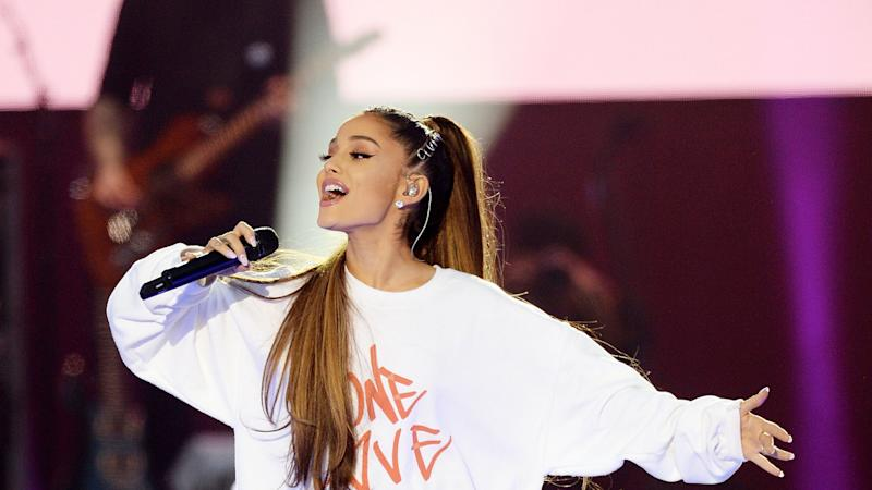 <p>Her album Sweetener includes a song for Manchester survivors, Get Well Soon</p>