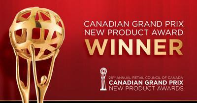 Canadian Grand Prix New Product Award Winner Photo (CNW Group/Naturally Homegrown Foods Ltd.)