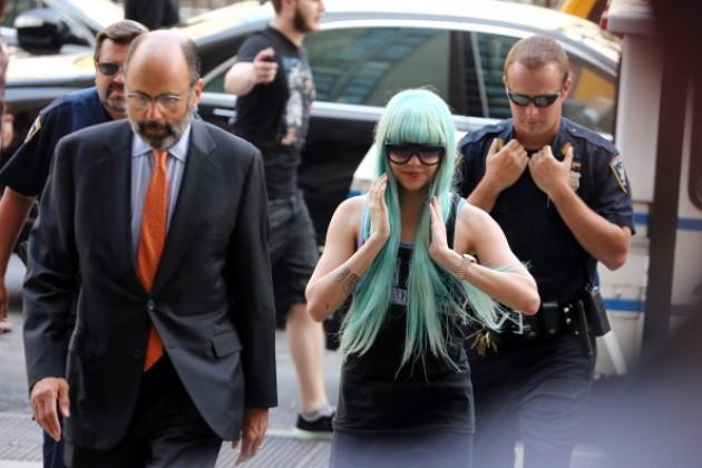 Amanda Bynes Manhattan Criminal Court Appearance - July 9, 2013