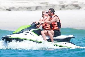 Scott Disick and Sofia Richie in Mexico