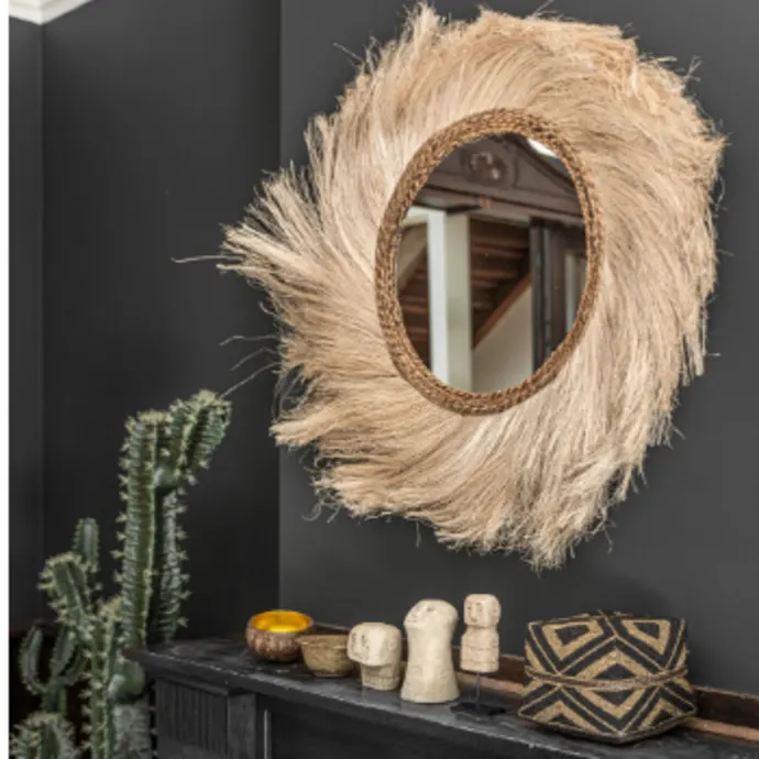 """<h3><strong>Trouva</strong></h3> <br><br><strong>Best For: Unique Boutique Finds<br></strong>We love the convenience of online shopping, but we also love the thoughtful curation and distinctive eye of boutiques. <a href=""""https://www.trouva.com/"""" rel=""""nofollow noopener"""" target=""""_blank"""" data-ylk=""""slk:Trouva"""" class=""""link rapid-noclick-resp"""">Trouva</a> combines the best of both worlds by sourcing their merchandise from indie boutiques around the world. Hailing from the UK, the e-tailer features design-led products, many of which are handmade by artisans in the country.<br><br><a href=""""https://www.trouva.com/discover/homewares3"""" rel=""""nofollow noopener"""" target=""""_blank"""" data-ylk=""""slk:Shop Trouva"""" class=""""link rapid-noclick-resp""""><em><strong>Shop Trouva</strong></em></a><br><br><strong>Maison Nomade</strong> 60cm Mirror With Fringes, $, available at <a href=""""https://go.skimresources.com/?id=30283X879131&url=https%3A%2F%2Fwww.trouva.com%2Fproducts%2F60cm-mirror-with-fringes"""" rel=""""nofollow noopener"""" target=""""_blank"""" data-ylk=""""slk:Trouva"""" class=""""link rapid-noclick-resp"""">Trouva</a><br><br><br><br>"""