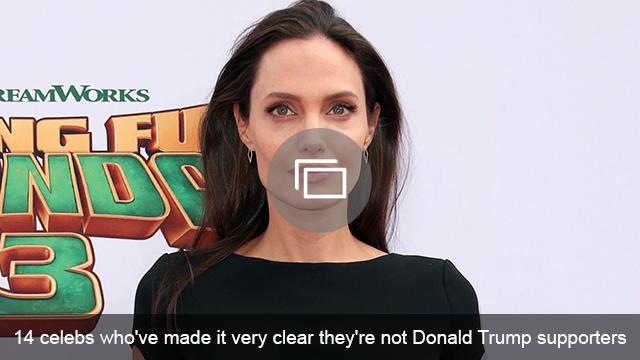 celebs against trump slideshow