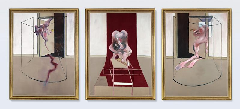 Francis Bacon, Triptych Inspired by the Oresteia of Aeschylus - Sotheby's