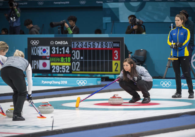 Eve Muirhead and her rink were beaten by Japan and missed out on bronze (Andy J Ryan/ Team GB)