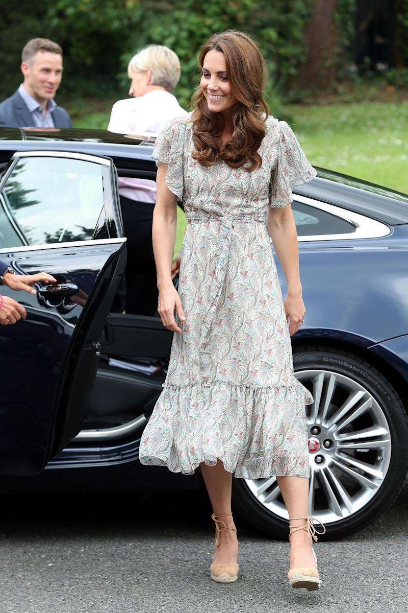 Duchess of Cambridge joins a photography workshop for Action for Children (Getty Images)