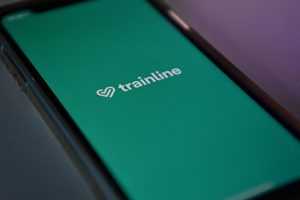 Trainline app. Photo: Ben Stansall/AFP via Getty Images