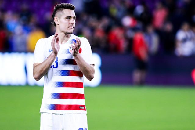 Aaron Long has seemingly carved out a first-choice spot alongside John Brooks at center back. (Getty)