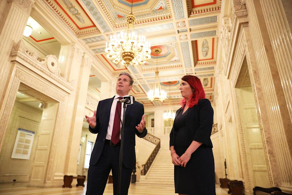 Keir Starmer visit to Belfast (PA Wire)