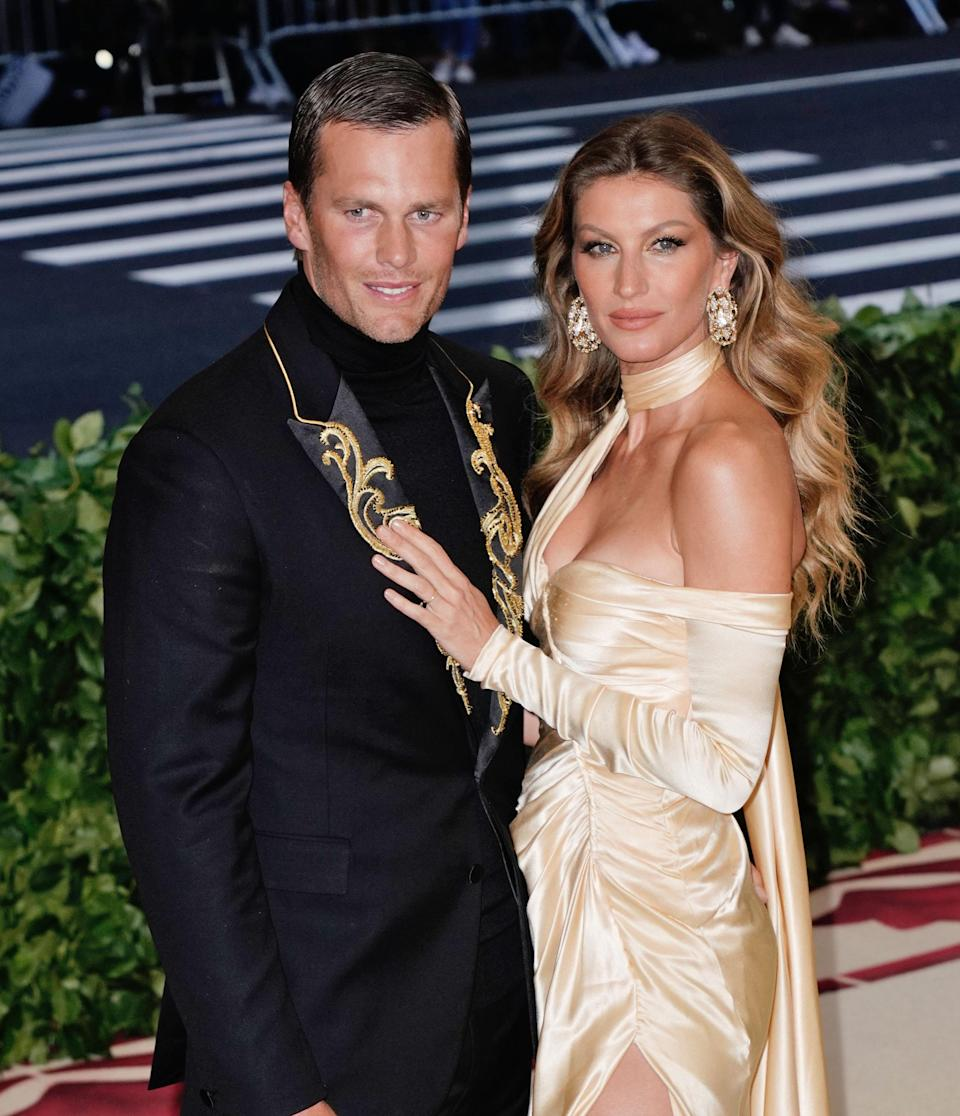 Gisele Bündchen and husband Tom Brady are now well known for their commitment to clean eating. (Photo: Jackson Lee/Getty Images)