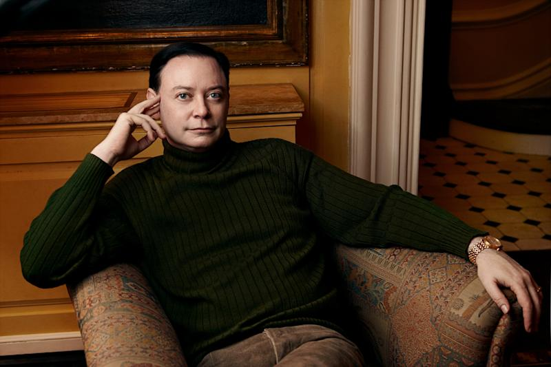 "This book cover image released by Scribner shows  Andrew Solomon, author of ""Far From the Tree: Parents, Children, and the Search for Identity."" (AP Photo/Scribner, Annie Leibovitz)"