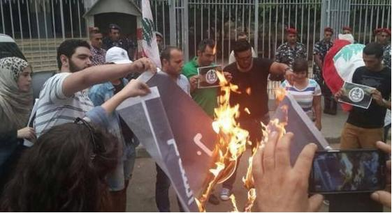 'Burn Isis Flag Challenge' Goes Viral in Arab World