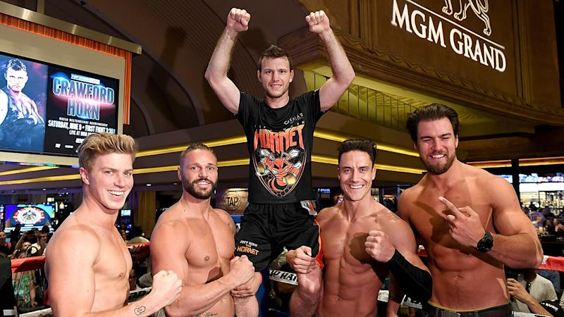 Jeff Horn reveals exchange of words with Terence Crawford after staring contest