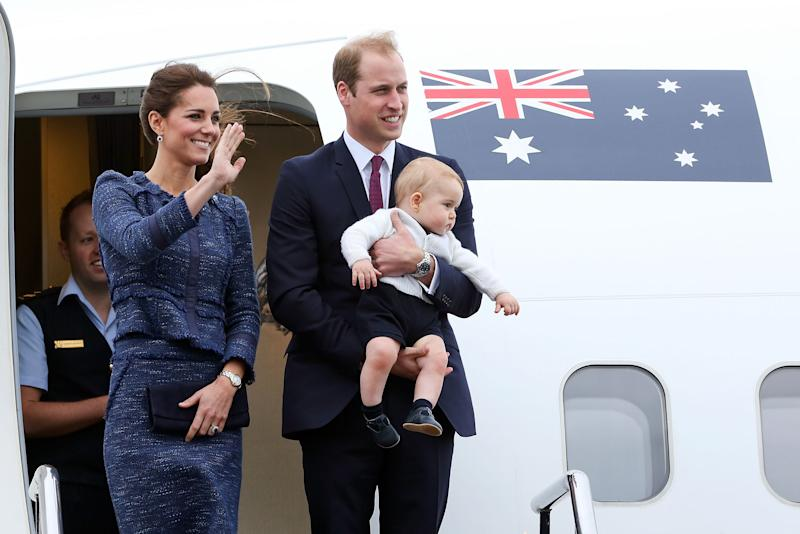 As second in line Prince William has to have his own blood on him at all times. Photo: Getty Images