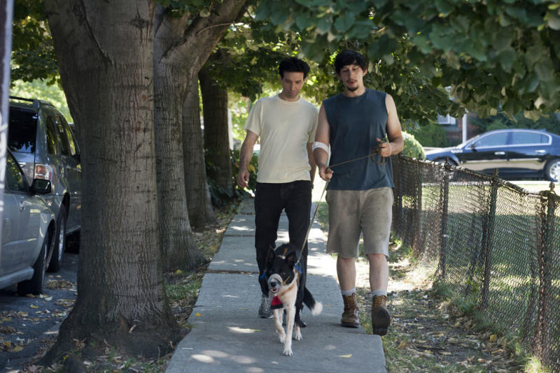 "Alex Karpovsky and Adam Driver in the ""Girls"" Season 2 episode, ""Boys."""