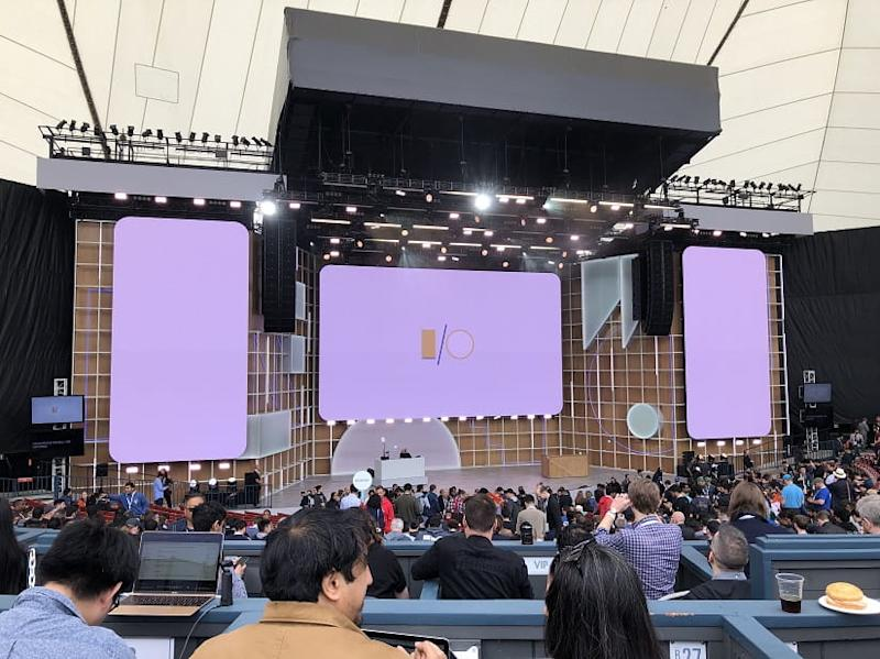 Google I/O generally takes place in the massive Shoreline Amphitheatre every May. This year the event was cancelled