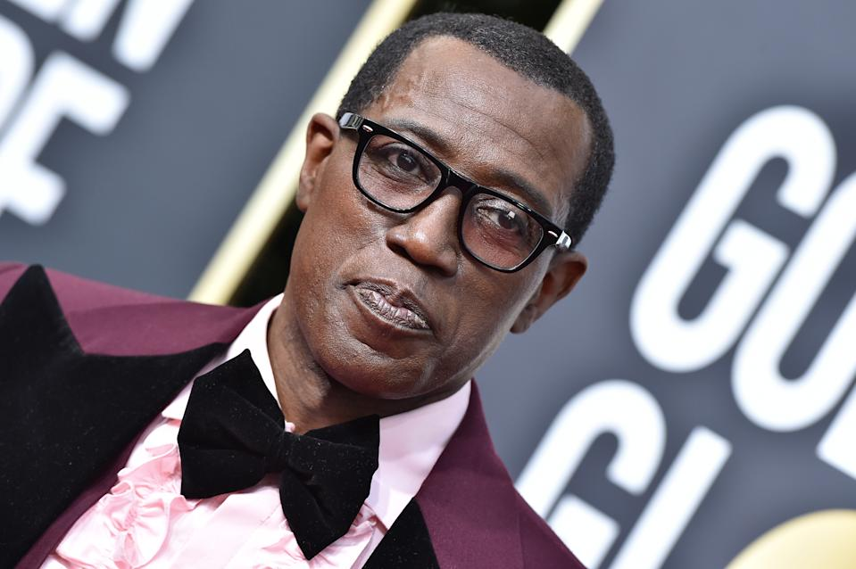 BEVERLY HILLS, CALIFORNIA - JANUARY 05: Wesley Snipes attends the 77th Annual Golden Globe Awards at The Beverly Hilton Hotel on January 05, 2020 in Beverly Hills, California. (Photo by Axelle/Bauer-Griffin/FilmMagic)