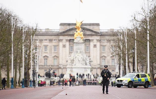 The incident occurred within the Buckingham Palace walls at 3am one morning. Photo: Getty Images